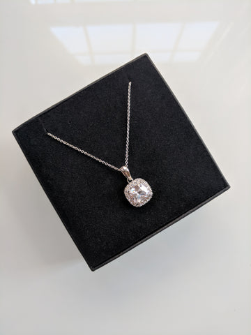 The Mini Monroe Platinum Plated Necklace