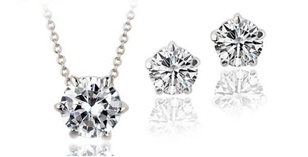 Starlet Set Platinum Plated