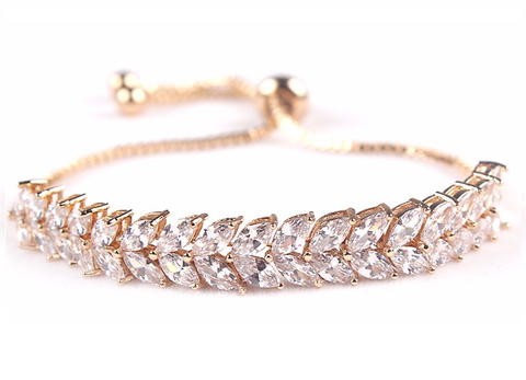 Birds Of A Feather Rose Gold Bracelet