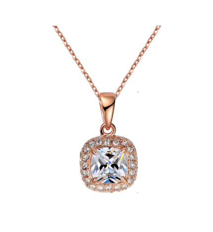 The Mini Monroe Rose Gold Necklace