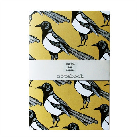 Mischievous Magpie Notebook - Feeling Quirky