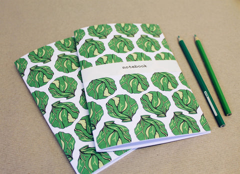 Christmas Sprout Notebook - Feeling Quirky