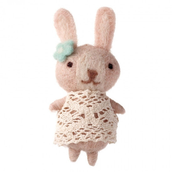 Girl Bunny In Dress - Feeling Quirky