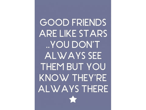 Good Friends Are Like Stars Fridge Magnet - Feeling Quirky