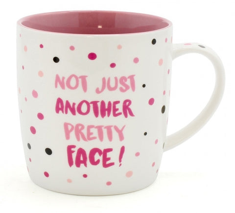 'Not Just Another Pretty Face' Mug - Feeling Quirky