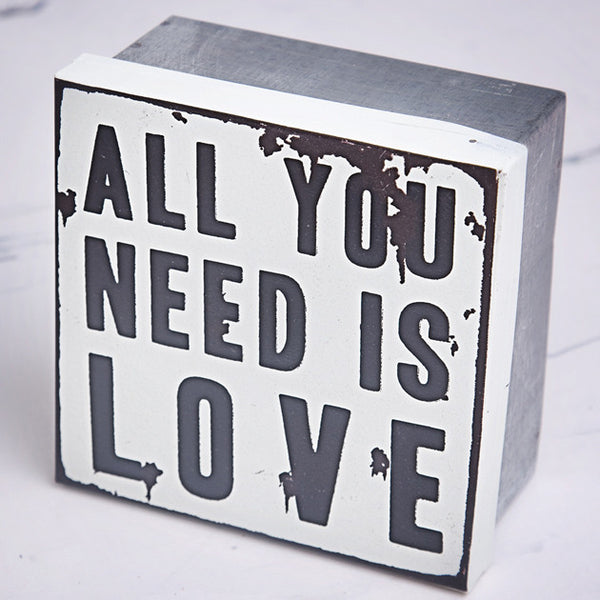 All You Need Is Love Storage Tin - Feeling Quirky