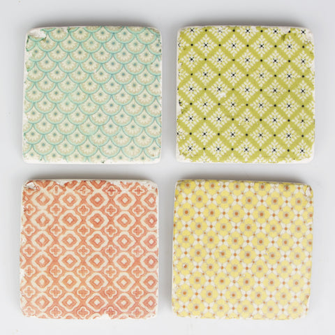 MODERN MOROCCO TILE COASTER - SET OF 4 - Feeling Quirky