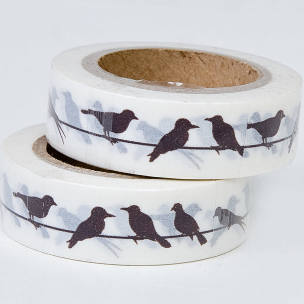 Birds On A Wire Washi Tape - Feeling Quirky