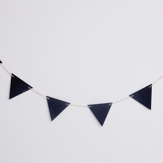 Triangle Chalk Board Bunting