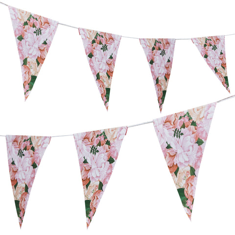 Boho Floral Paper Bunting - Feeling Quirky