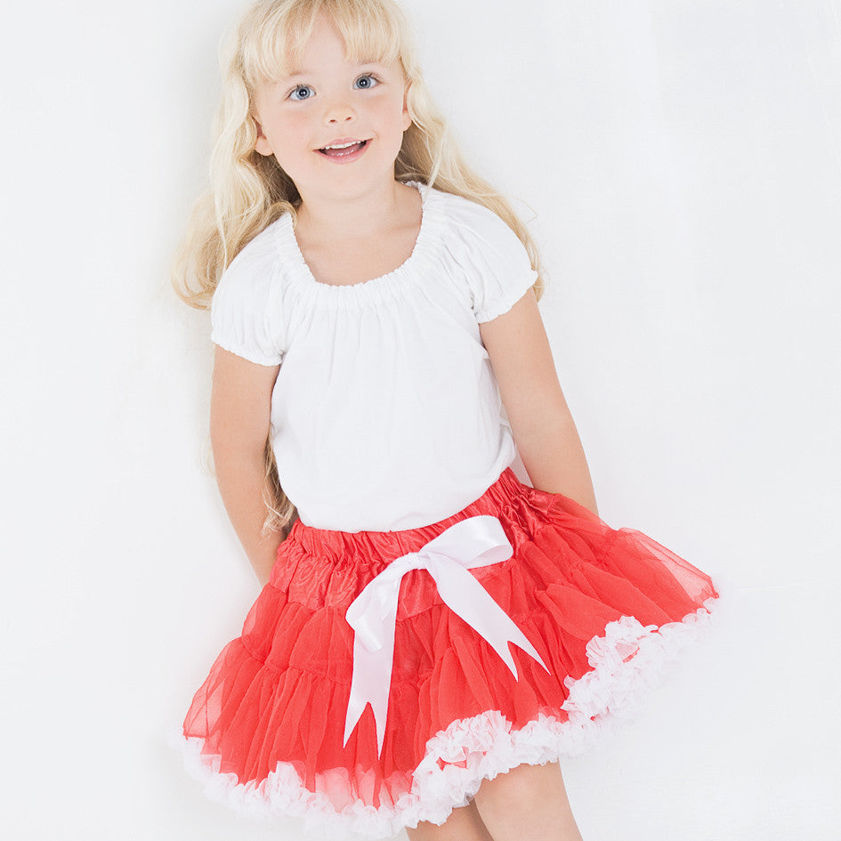 Red & White Tutu - Feeling Quirky