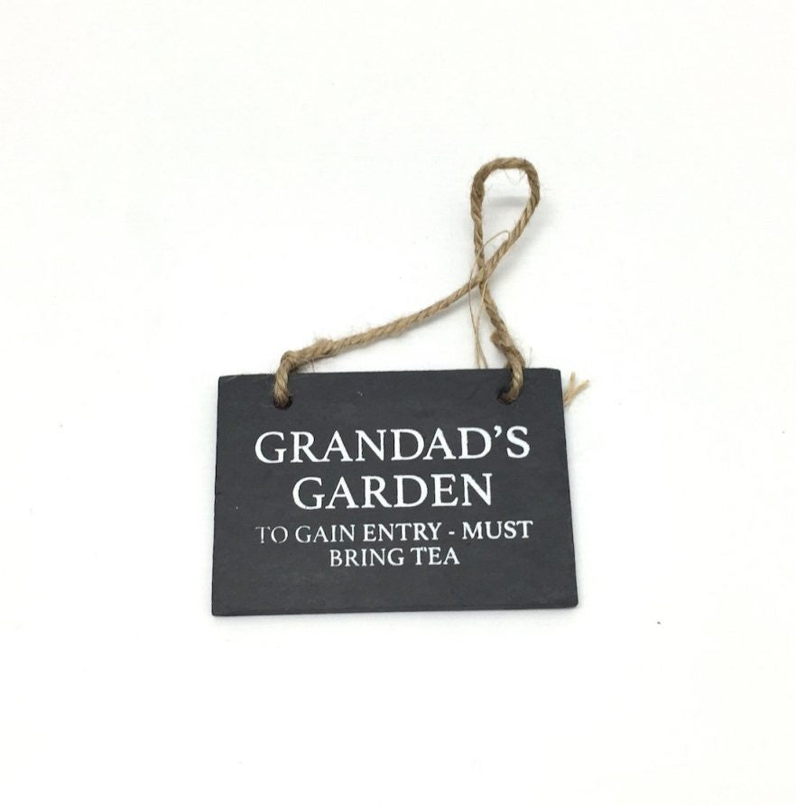 Grandad Slate Plaque - Feeling Quirky