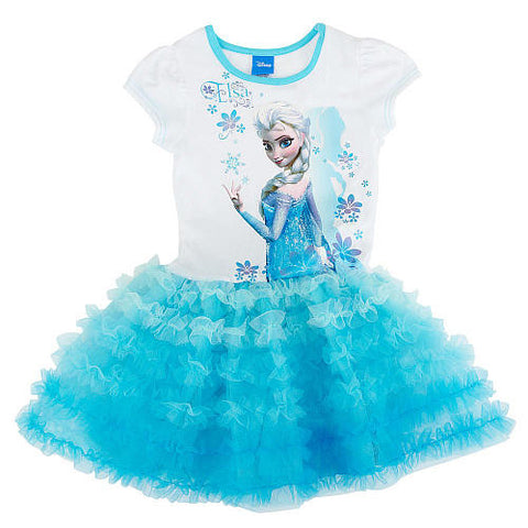 Frozen Elsa Tutu Nightdress - Feeling Quirky