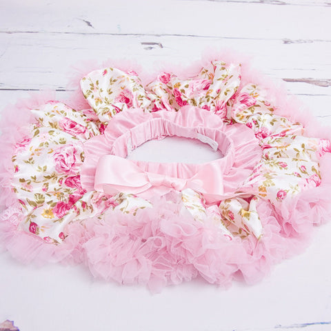 Gorgeous Floral Newborn Tutu - Feeling Quirky
