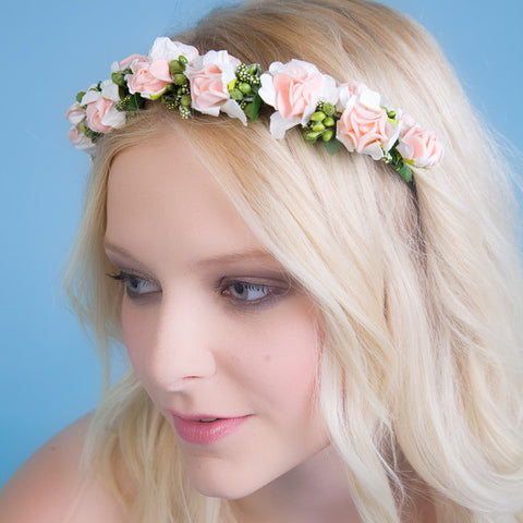 Floral Garland Style Headband - Feeling Quirky
