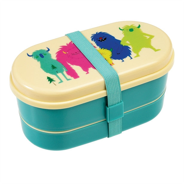 Monsters Of The World Bento Lunch Box - Feeling Quirky