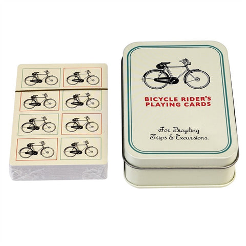 Bicycle Playing Cards In A Tin - Feeling Quirky