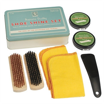 Gentleman's Shoe Shine Set - Feeling Quirky