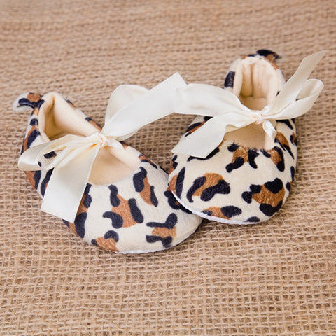 Baby Girl Leopard Slippers - Feeling Quirky