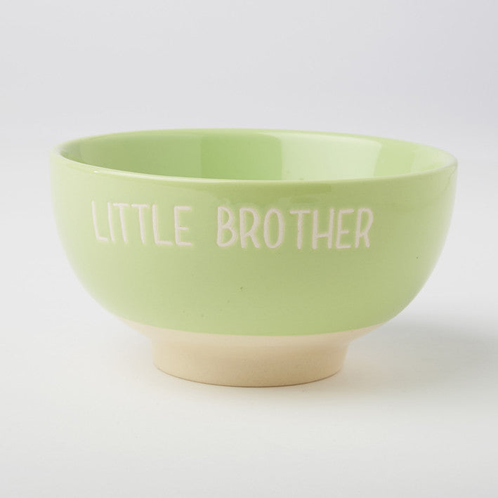 LITTLE BROTHER CEREAL BOWL - GREEN - Feeling Quirky
