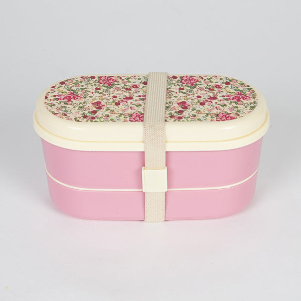 VINTAGE FLORAL ROSES BENTO LUNCH BOX - Feeling Quirky