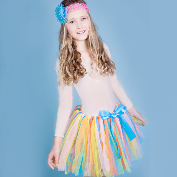 Rainbow Tutu With Headband - Feeling Quirky