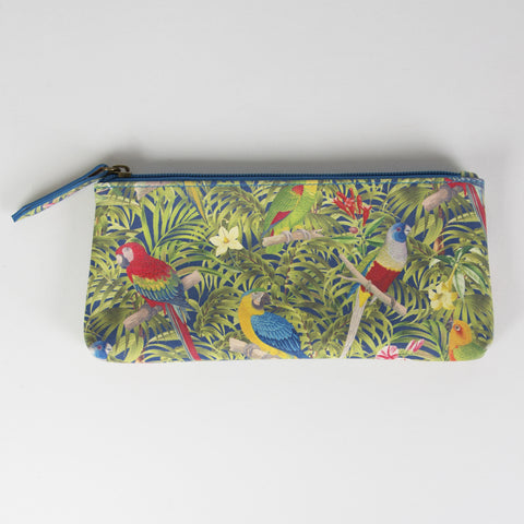 PARROT PARADISE SLIM PENCIL CASE - Feeling Quirky
