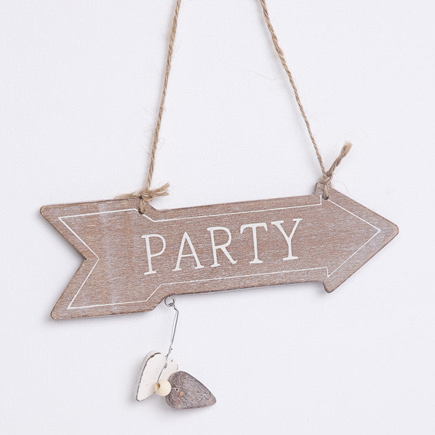 Party Arrow Sign - Feeling Quirky