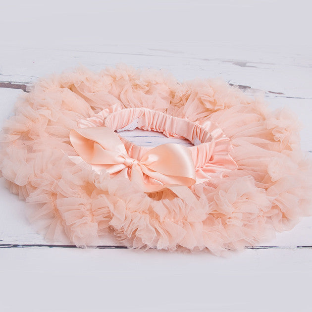 Cute Peach Newborn Tutu - Feeling Quirky