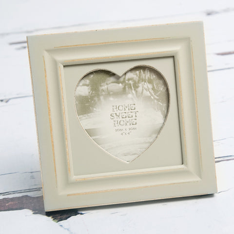 Sage Heart Photo Frame - Feeling Quirky