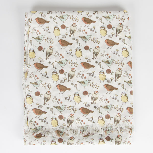 British Birds Scarf - Feeling Quirky