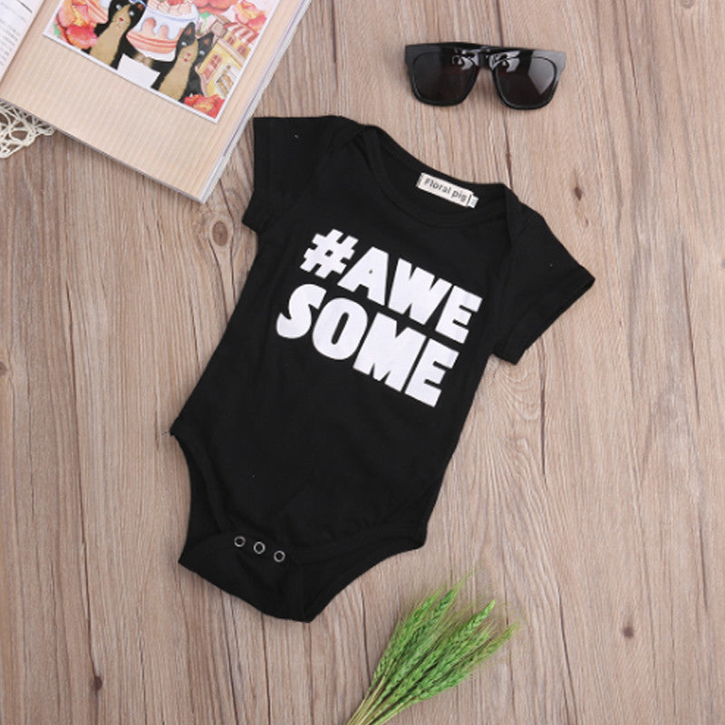 Awesome Baby Vest - Feeling Quirky