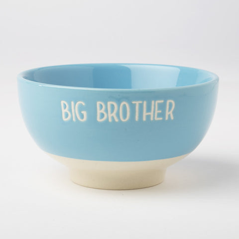 Big Brother Cereal Bowl - Blue - Feeling Quirky