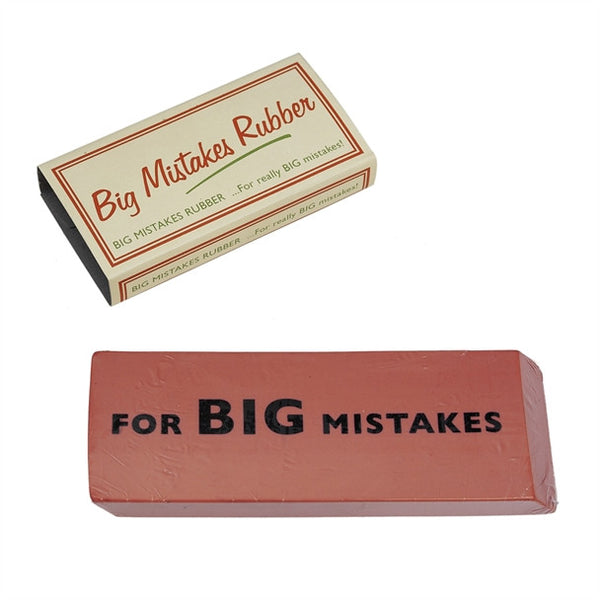 Big Mistakes Rubber