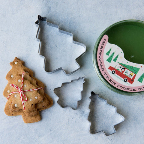 Christmas Tree Cookie Cutters - Feeling Quirky