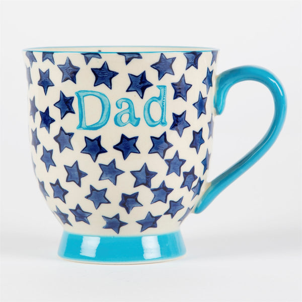 Bohemian Stars Dad Mug - Feeling Quirky