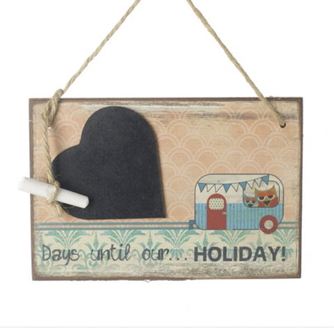 Days Until Our Holiday Chalkboard Sign