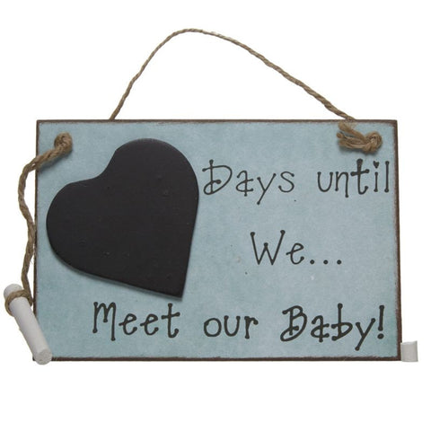 Days Until We Meet Our Baby - Feeling Quirky