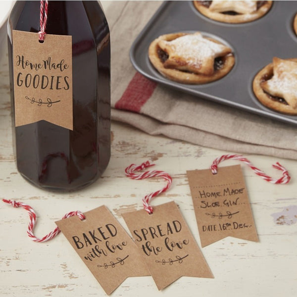 Christmas Homemade Treat Gift Tags - Feeling Quirky