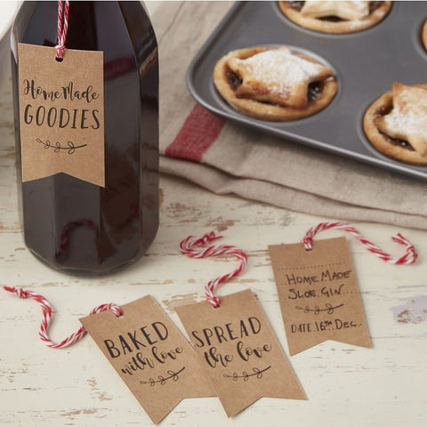 Christmas Homemade Treat Gift Tags
