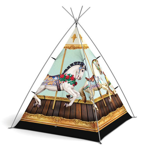 Hold Your Horses - Carousel Play Teepee - Feeling Quirky