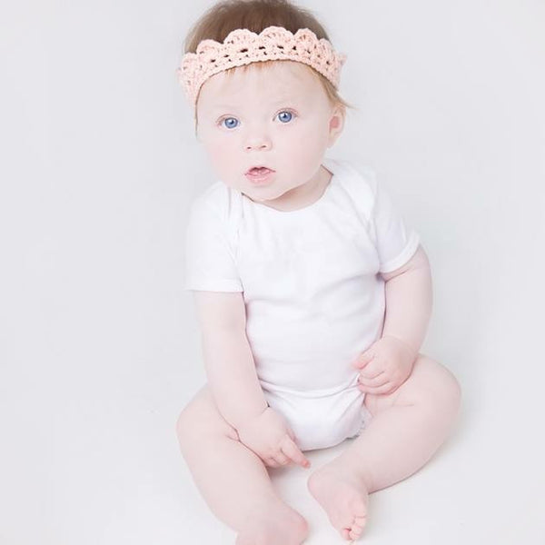 Handmade Crochet Baby Tiara - Feeling Quirky