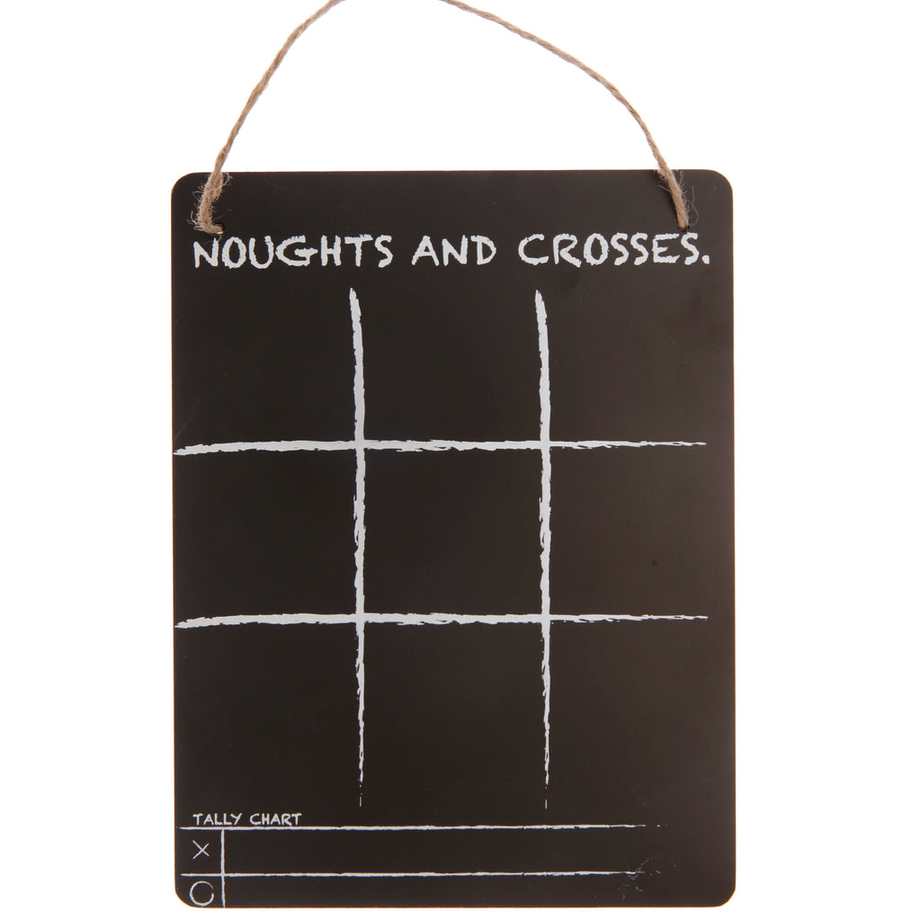 Noughts and Crosses Chalkboard - Feeling Quirky