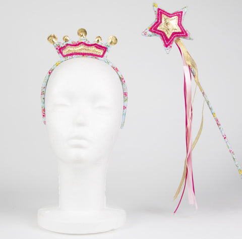 Fairy Wand & Headband Set