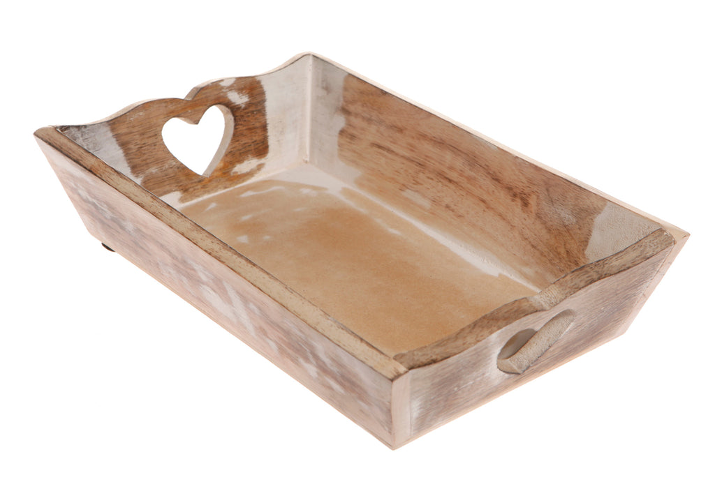 Rustic Wooden Tray - Feeling Quirky