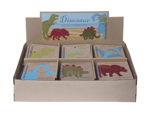 Mini Dinosaur Notebook - Feeling Quirky