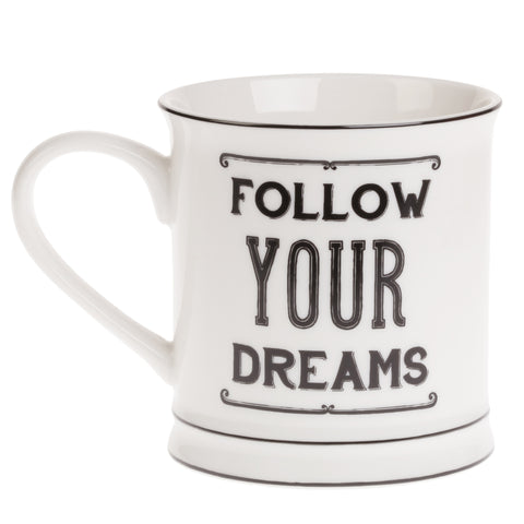 Follow Your Dreams Mug - Feeling Quirky