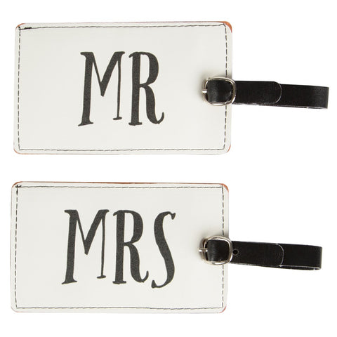 Mr & Mrs Luggage Tag - Feeling Quirky