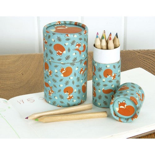 Rusty The Fox Colouring Pencils - Feeling Quirky