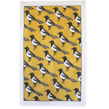 Mischievous Magpie Tea Towel - Feeling Quirky